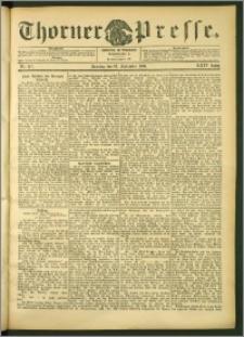 Thorner Presse 1906, Jg. XXIV, Nr. 217 + 1. Beilage, 2. Beilage, 3. Beilage