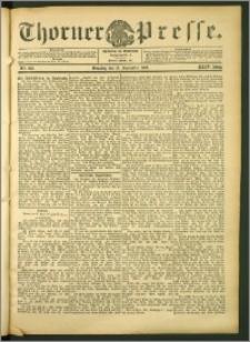 Thorner Presse 1906, Jg. XXIV, Nr. 218 + Beilage