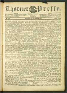 Thorner Presse 1906, Jg. XXIV, Nr. 220 + Beilage