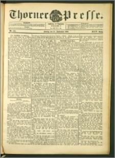 Thorner Presse 1906, Jg. XXIV, Nr. 221 + Beilage