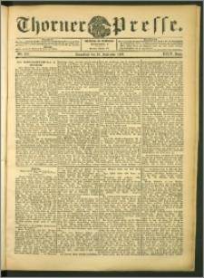 Thorner Presse 1906, Jg. XXIV, Nr. 222 + Beilage