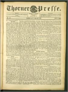 Thorner Presse 1906, Jg. XXIV, Nr. 223 + 1. Beilage, 2. Beilage