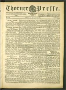 Thorner Presse 1906, Jg. XXIV, Nr. 225 + Beilage