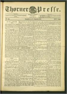 Thorner Presse 1906, Jg. XXIV, Nr. 228 + Beilage