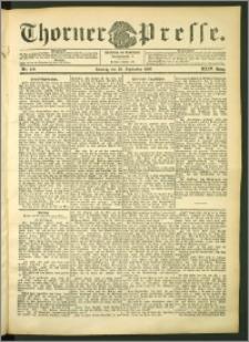Thorner Presse 1906, Jg. XXIV, Nr. 229 + 1. Beilage, 2. Beilage, 3. Beilage