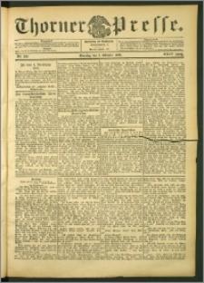 Thorner Presse 1906, Jg. XXIV, Nr. 230 + 1. Beilage, 2. Beilage