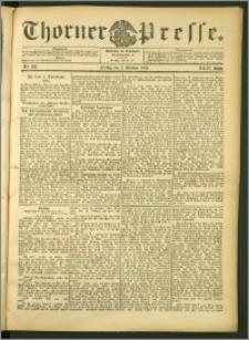 Thorner Presse 1906, Jg. XXIV, Nr. 233 + 1. Beilage, 2. Beilage