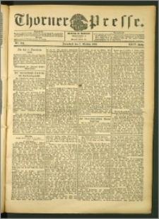 Thorner Presse 1906, Jg. XXIV, Nr. 234 + Beilage