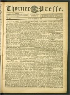 Thorner Presse 1906, Jg. XXIV, Nr. 235 + 1. Beilage, 2. Beilage, 3. Beilage