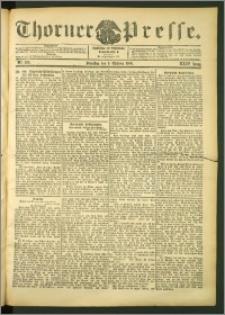 Thorner Presse 1906, Jg. XXIV, Nr. 236 + 1. Beilage, 2. Beilage