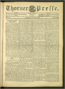 Thorner Presse 1906, Jg. XXIV, Nr. 240 + Beilage