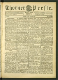 Thorner Presse 1906, Jg. XXIV, Nr. 241 + 1. Beilage, 2. Beilage, 3. Beilage