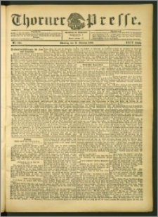 Thorner Presse 1906, Jg. XXIV, Nr. 242 + Beilage