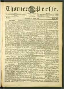 Thorner Presse 1906, Jg. XXIV, Nr. 249 + Beilage, Beilagenwerbung