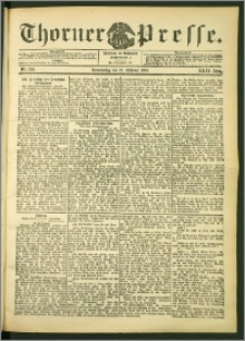 Thorner Presse 1906, Jg. XXIV, Nr. 250 + Beilage