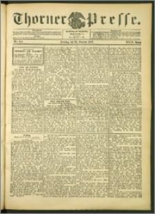 Thorner Presse 1906, Jg. XXIV, Nr. 253 + 1. Beilage, 2. Beilage, 3. Beilage