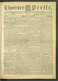 Thorner Presse 1906, Jg. XXIV, Nr. 255 + Beilage