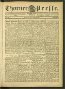 Thorner Presse 1906, Jg. XXIV, Nr. 256 + 1. Beilage, 2. Beilage