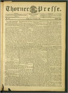 Thorner Presse 1906, Jg. XXIV, Nr. 257 + Beilage