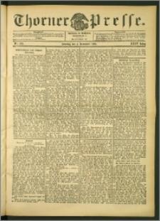 Thorner Presse 1906, Jg. XXIV, Nr. 259 + 1. Beilage, 2. Beilage, 3. Beilage
