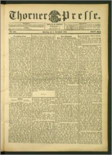 Thorner Presse 1906, Jg. XXIV, Nr. 260 + Beilage