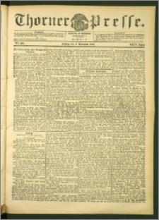 Thorner Presse 1906, Jg. XXIV, Nr. 263 + Beilage