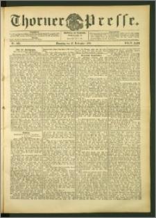 Thorner Presse 1906, Jg. XXIV, Nr. 266 + Beilage