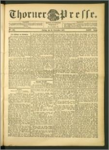 Thorner Presse 1906, Jg. XXIV, Nr. 269 + Beilage