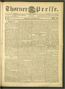 Thorner Presse 1906, Jg. XXIV, Nr. 270 + Beilage