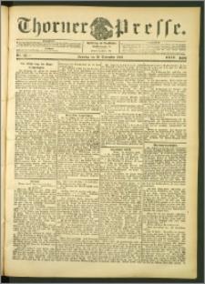 Thorner Presse 1906, Jg. XXIV, Nr. 271 + 1. Beilage, 2. Beilage, 3. Beilage
