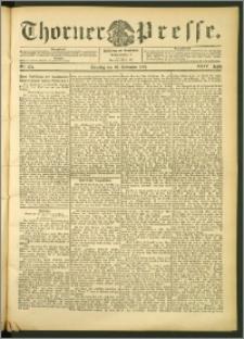 Thorner Presse 1906, Jg. XXIV, Nr. 272 + 1. Beilage, 2. Beilage