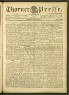 Thorner Presse 1906, Jg. XXIV, Nr. 274 + 1. Beilage, 2. Beilage