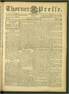 Thorner Presse 1906, Jg. XXIV, Nr. 277 + Beilage, Beilage