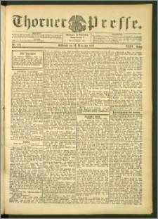 Thorner Presse 1906, Jg. XXIV, Nr. 278 + 1. Beilage, 2. Beilage