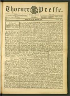 Thorner Presse 1906, Jg. XXIV, Nr. 279 + 1. Beilage, 2. Beilage