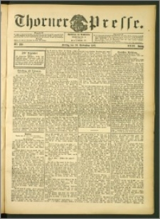 Thorner Presse 1906, Jg. XXIV, Nr. 280 + Beilage, Beilage