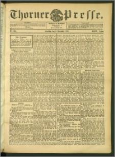 Thorner Presse 1906, Jg. XXIV, Nr. 282 + 1. Beilage, 2. Beilage, 3. Beilage