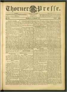 Thorner Presse 1906, Jg. XXIV, Nr. 283 + 1. Beilage, 2. Beilage, Beilagenwebung