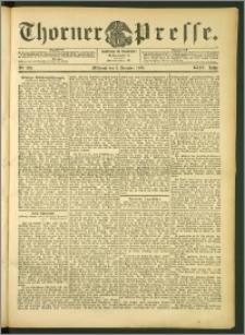 Thorner Presse 1906, Jg. XXIV, Nr. 284 + Beilage