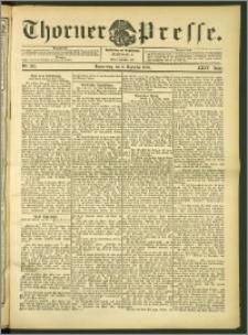 Thorner Presse 1906, Jg. XXIV, Nr. 285 + 1. Beilage, 2. Beilage