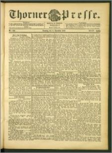 Thorner Presse 1906, Jg. XXIV, Nr. 288 + 1. Beilage, 2. Beilage, 3. Beilage
