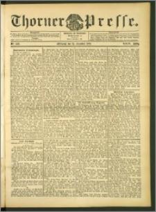 Thorner Presse 1906, Jg. XXIV, Nr. 290 + Beilage, Beilagenwerbung