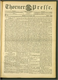 Thorner Presse 1906, Jg. XXIV, Nr. 295 + 1. Beilage, 2. Beilage