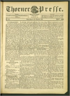 Thorner Presse 1906, Jg. XXIV, Nr. 297 + 1. Beilage, 2. Beilage, 3. Beilage
