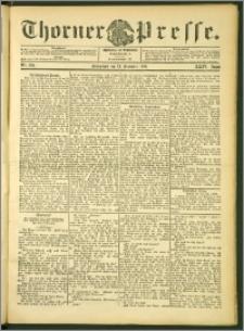 Thorner Presse 1906, Jg. XXIV, Nr. 299 + 1. Beilage, 2. Beilage
