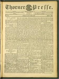 Thorner Presse 1906, Jg. XXIV, Nr. 300 + 1. Beilage, 2. Beilage, 3. Beilage