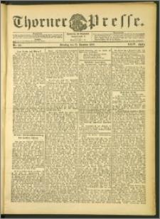 Thorner Presse 1906, Jg. XXIV, Nr. 301 + 1. Beilage, 2. Beilage