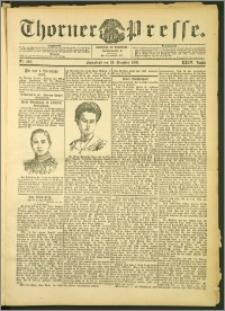 Thorner Presse 1906, Jg. XXIV, Nr. 303 + Beilage