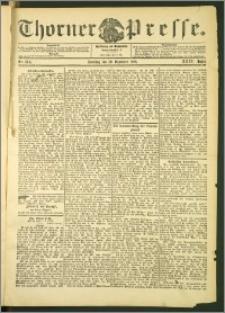 Thorner Presse 1906, Jg. XXIV, Nr. 304 + 1. Beilage, 2. Beilage