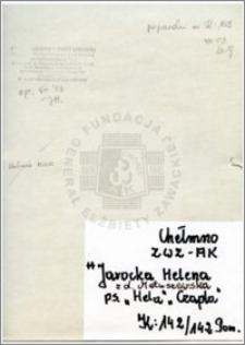 Jarocka Helena